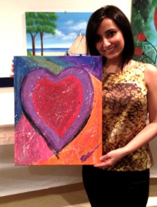 Sunanda Heart Painting Photo