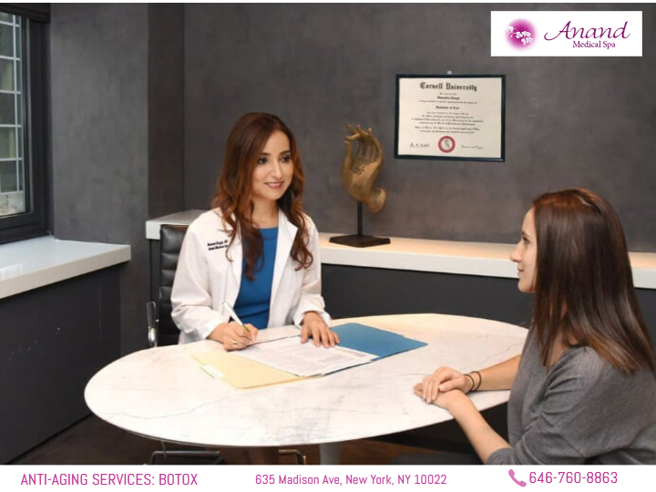 Consultation for Botox